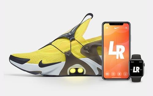 Novos tênis da Nike Adapt Huarache permite mandar a Siri do iPhone amarrar seu cadarço
