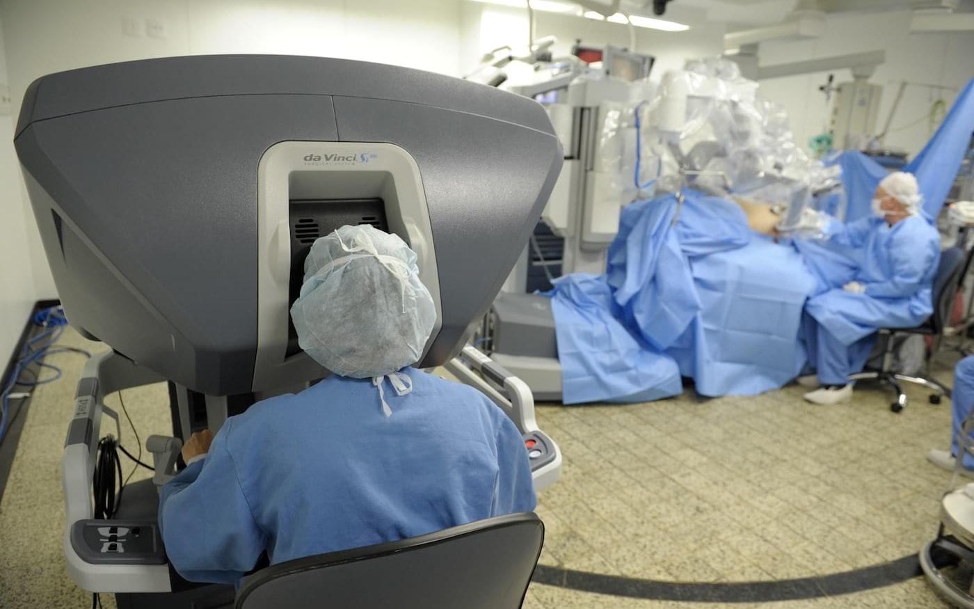 Primeira cirurgia robótica a distância é realizada com rede 5G