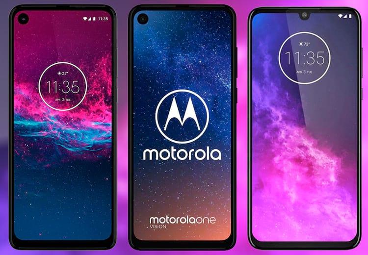 Motorola One Action, Motorola One Vision e Motorola One Zoom (Pro)