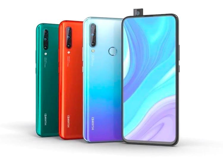 Huawei Enjoy 10 Plus, cores e camera pop-up aparece em vídeo, assim como seu conjunto triplo de câmera traseira
