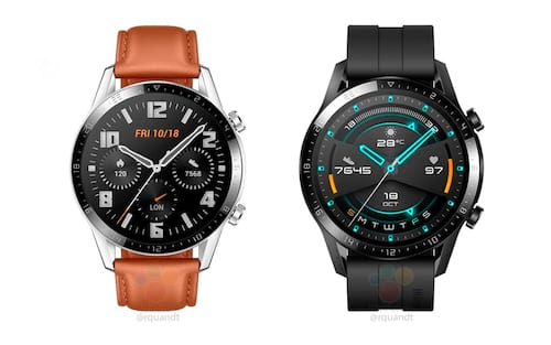 Huawei Watch GT 2 vaza e mostra molduras menores e bateria maior