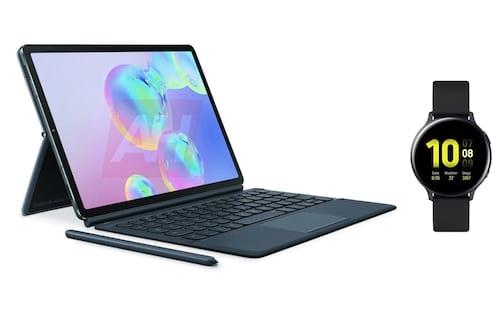 Tablet Galaxy Tab S6 e relógio Galaxy Active 2 chegam ao Brasil em outubro