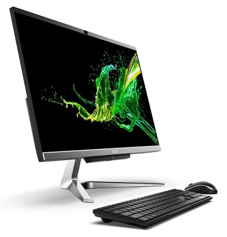 Acer série Aspire C, o all-in-one ideal para toda a família