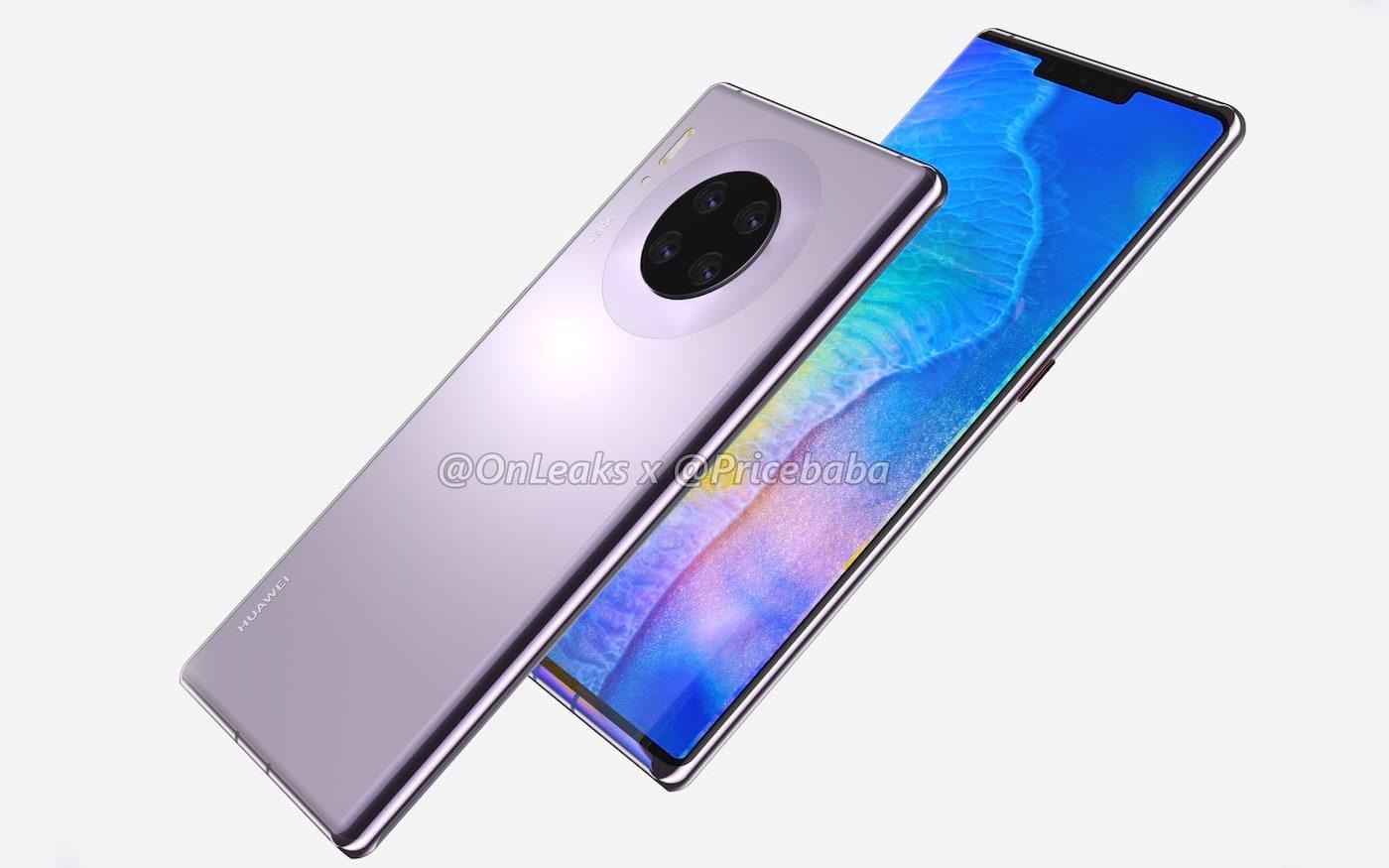 Novas imagens do Huawei Mate 30 Pro confirmam rumores