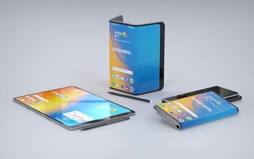 Patente da LG mostra celular dobrável, com caneta Stylus e que vira tablet
