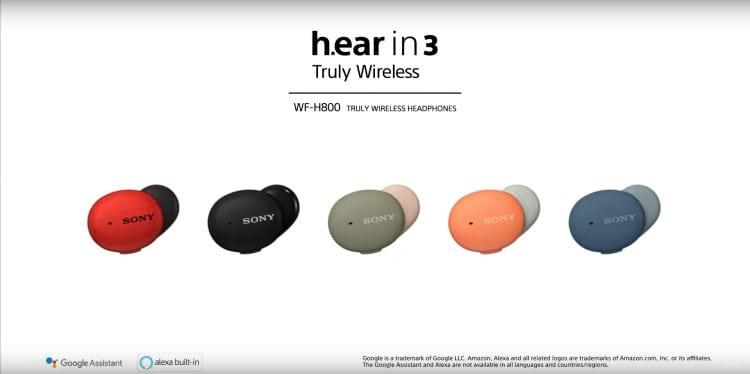 Sony WF-H800 Hear.In 3