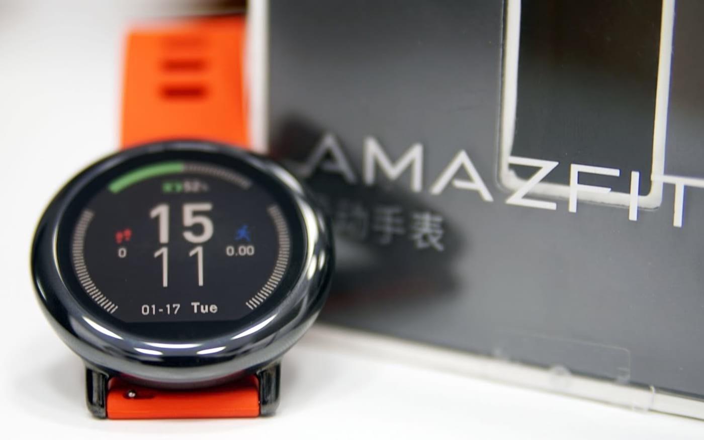 Loja online da Xiaomi vende o smartwatch Amazfit Pace no Brasil
