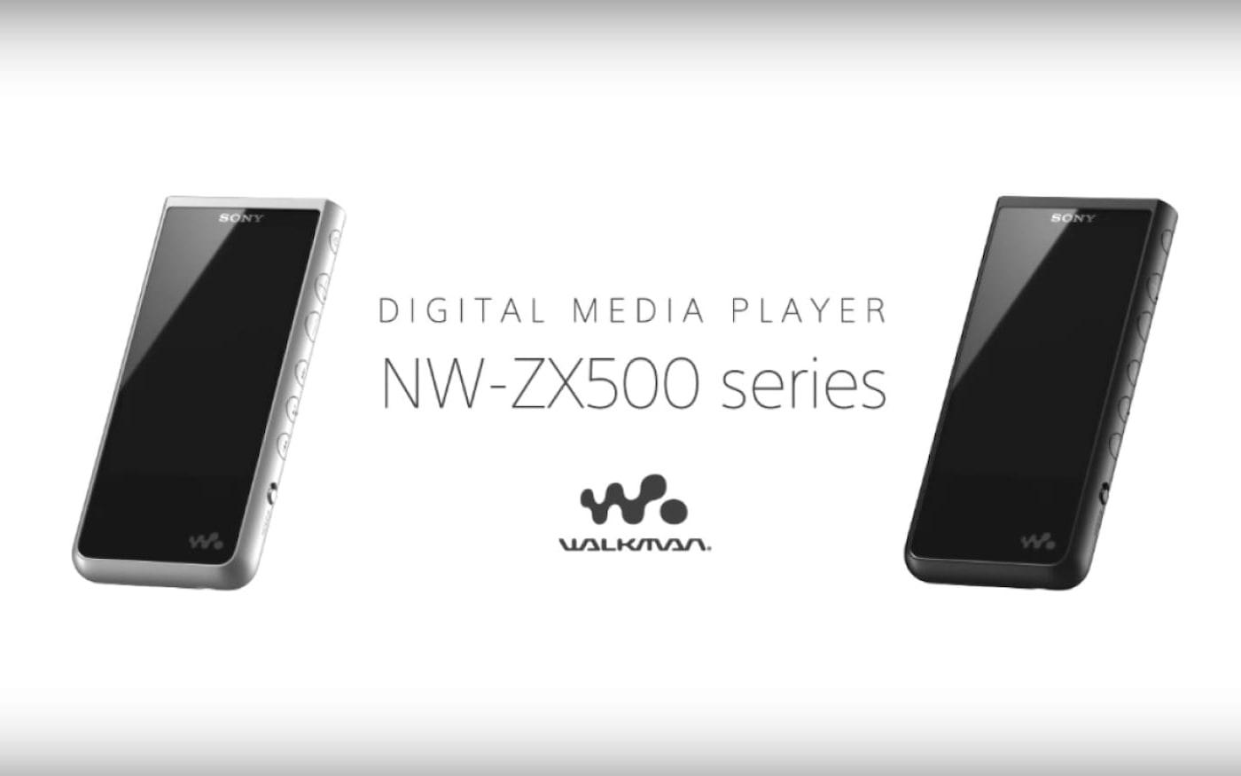 Sony anuncia novo player! Conheça o ZX500 Walkman!