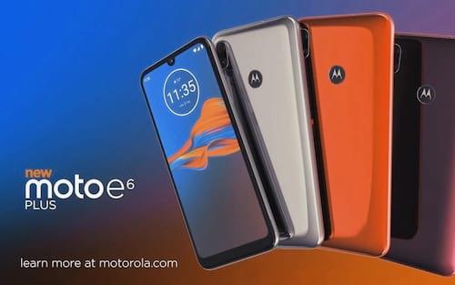 Moto E6 Plus é lançado a partir de R$899, com câmera dupla