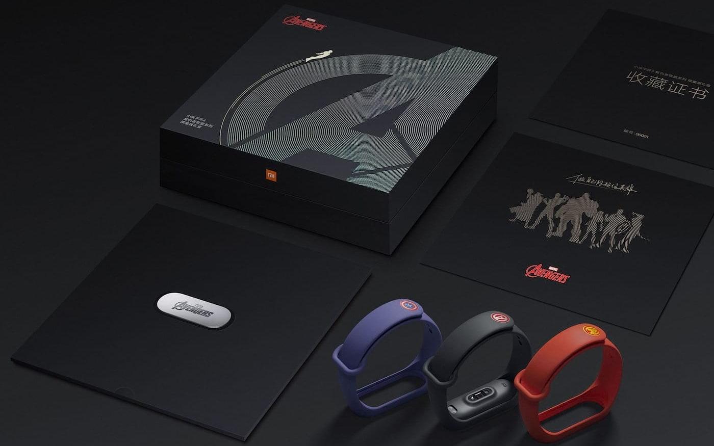 Xiaomi pode lançar Mi Band 4 dos Vingadores na Índia