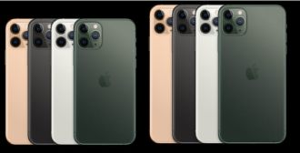 cores iphone 11