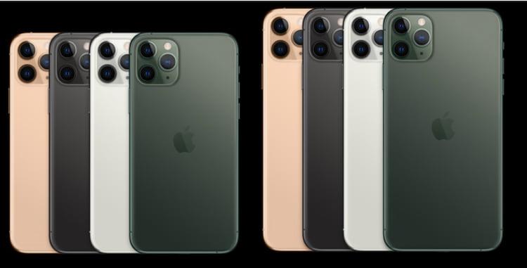 cores iphone 11