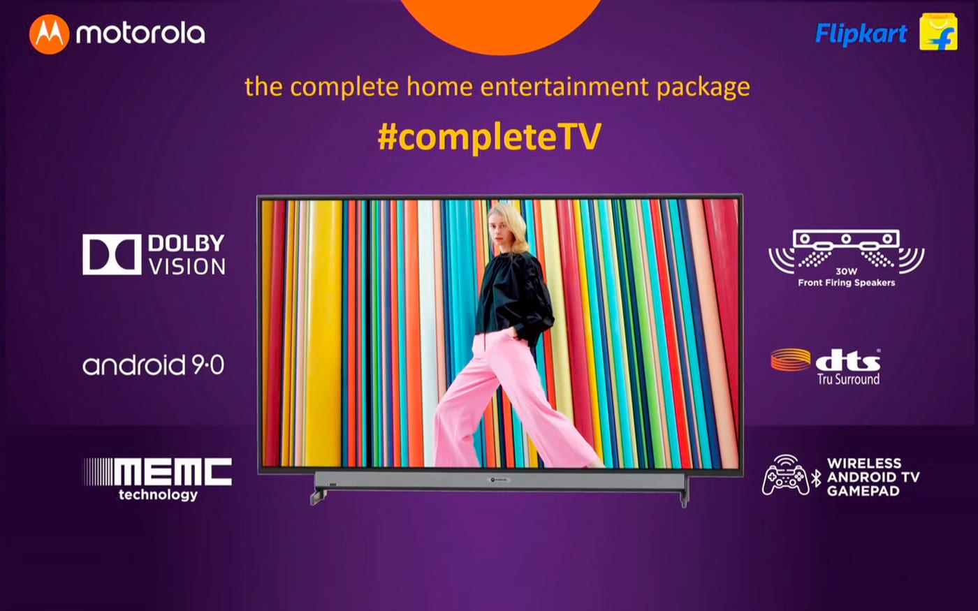 Motorola Smart TV chega a Índia