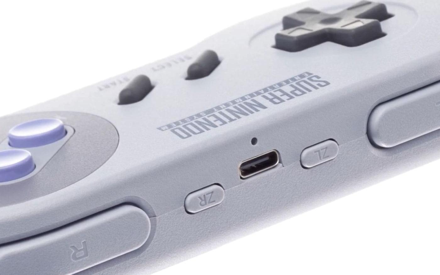 Controles sem fio do Super Nintendo (SNES) para Switch já estão a venda