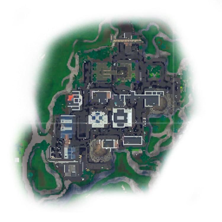 Mapa baseado em Gothan City. Fonte: Twitter @FNBRLeaks