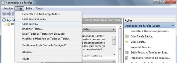 Como fazer o Windows 7 desligar automaticamente