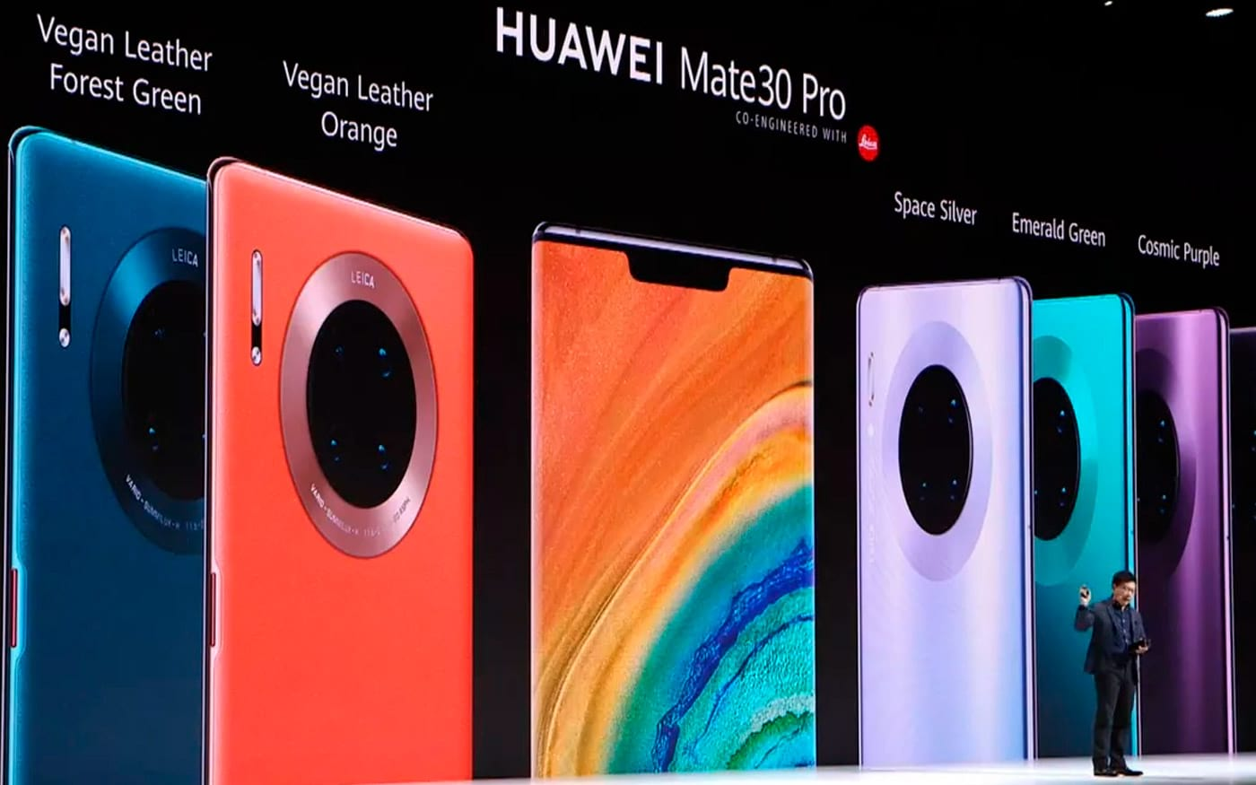 Huawei lança o Mate 30 Pro, sem Google Play