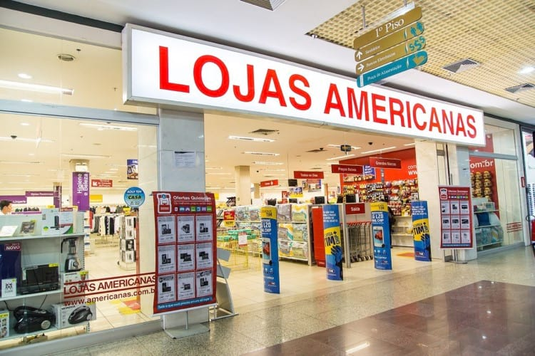 Lojas Americanas . Fonte: sunoresearch