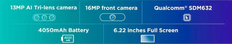 Especificações de câmera, tela e bateria do Lenovo K10 Plus