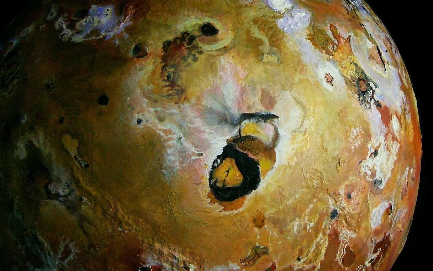 Grande vulcão lunar de Júpiter vai entrar em erupção neste mês