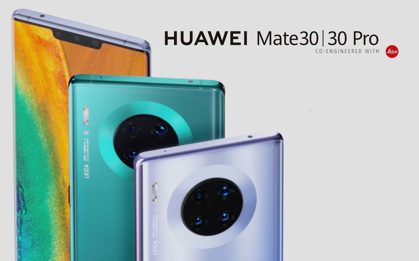 Vídeos promocionais do Huawei Mate 30 destacam design, câmeras e carregamento rápido