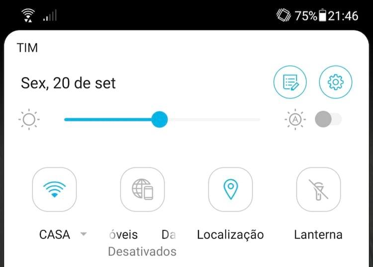 Sempre mantenha a localização de seu smartphone ativada