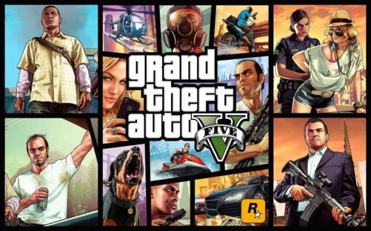 Imagem ilustrativa do jogo Grand Theft Audio V. Fonte: Rockstar Games