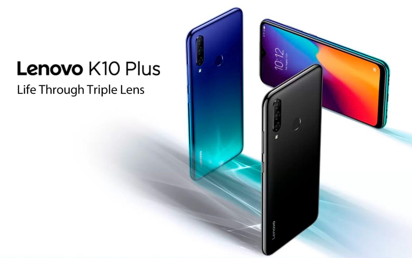 Lenovo K10 Plus chega a Índia com câmera tripla por 648 reais