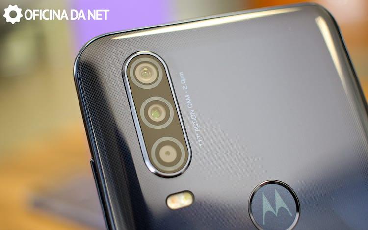 As câmeras do Motorola One Action