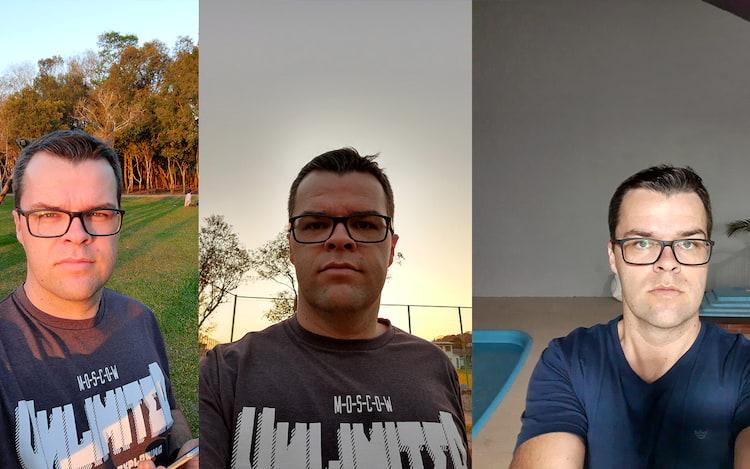 Motorola One Action selfies