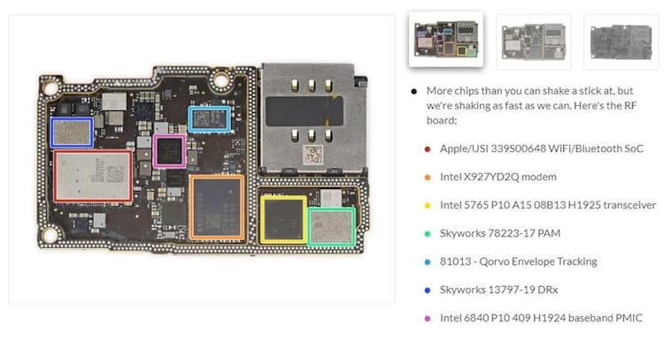 Ifixit desmonta iPhone 11 Pro Max e mostra modem Intel