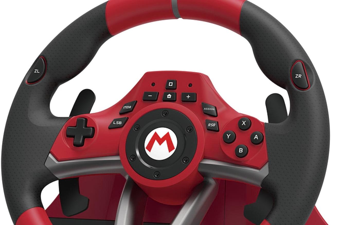 Japonesa Hori anuncia volante oficial de Mario Kart para Nintendo Switch