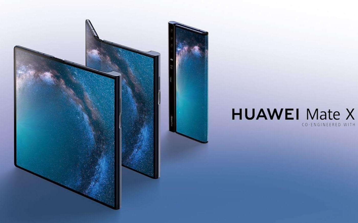 Huawei Mate X deverá ser lançado em outubro