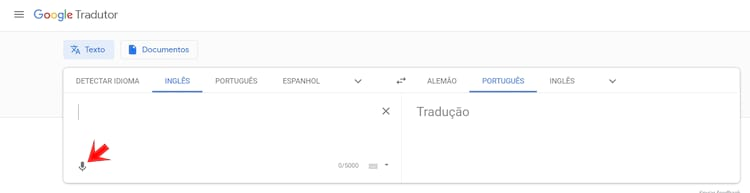 Voz - Google Tradutor