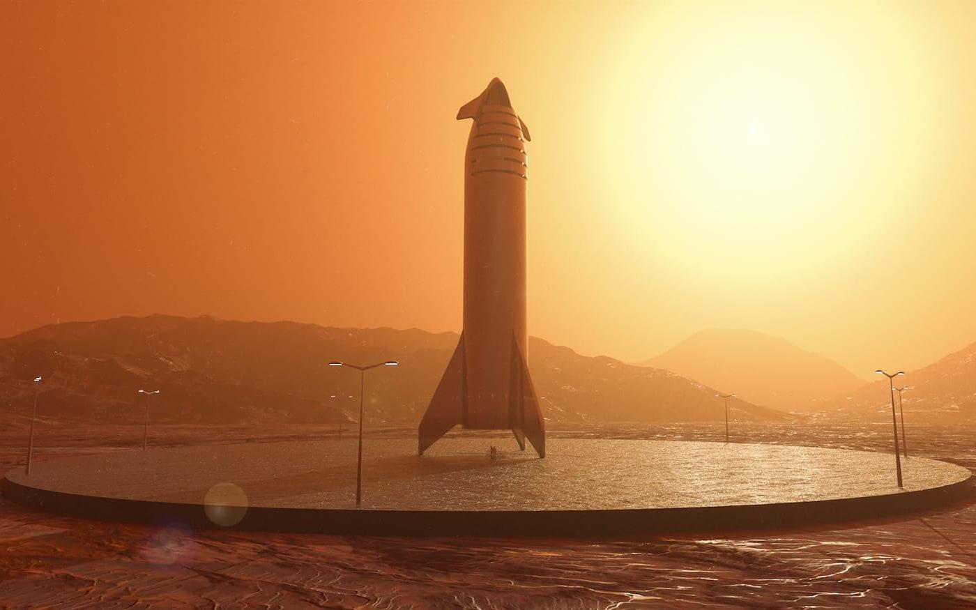 Elon Musk dá detalhes sobre nave Starship, projetada para levar o homem à Marte