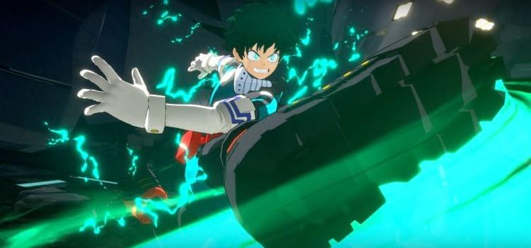 Imagem do gameplay de My Hero Academia Ones Justice 2. Fonte: PS360HD2 (YouTube)