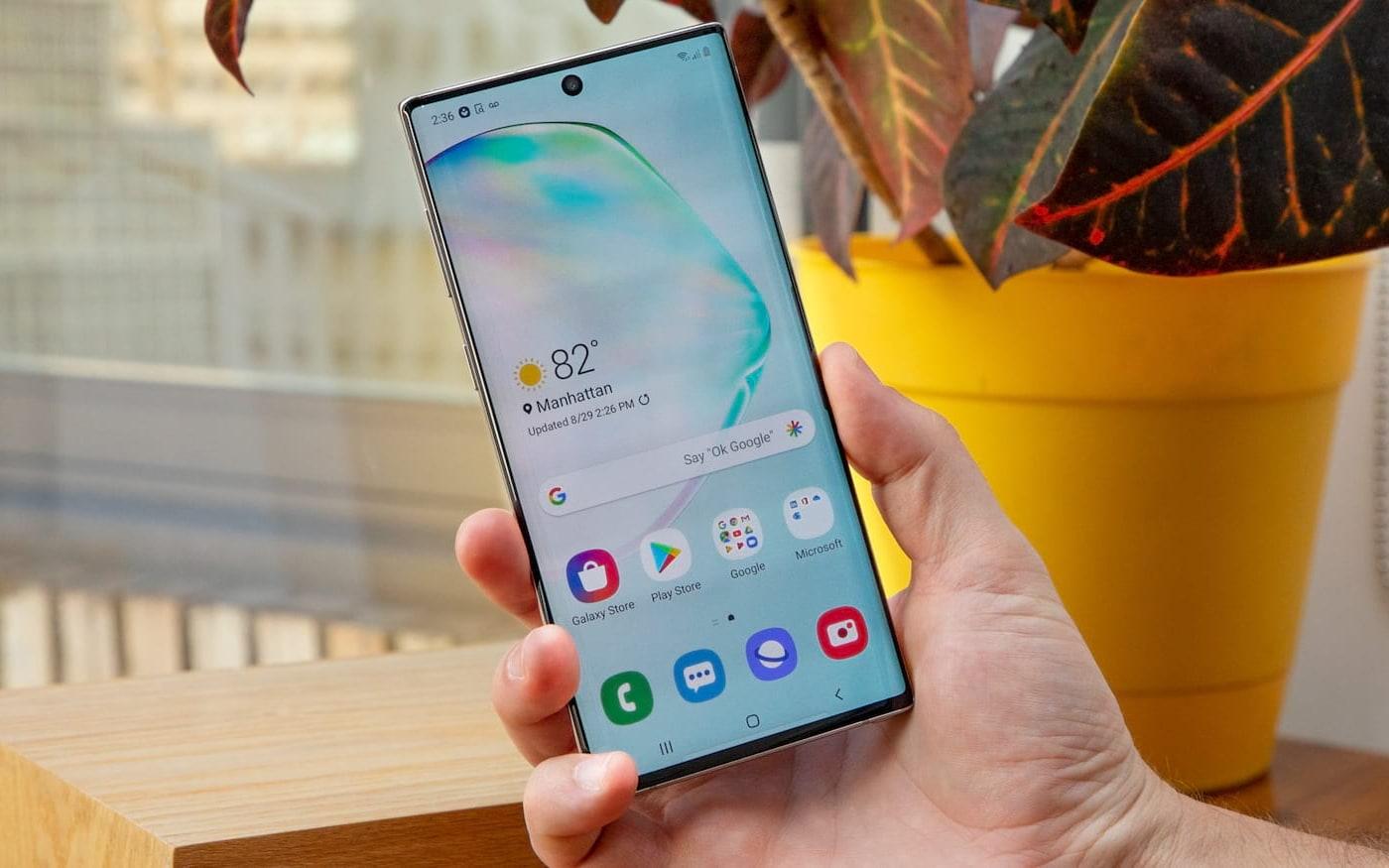 Samsung americana lança pacote Galaxy Note 10+ com fones wireless e smartwatch