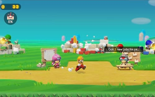 Agora é possível jogar online no Super Mario Maker 2 com amigos, utilizar chat por voz e mais