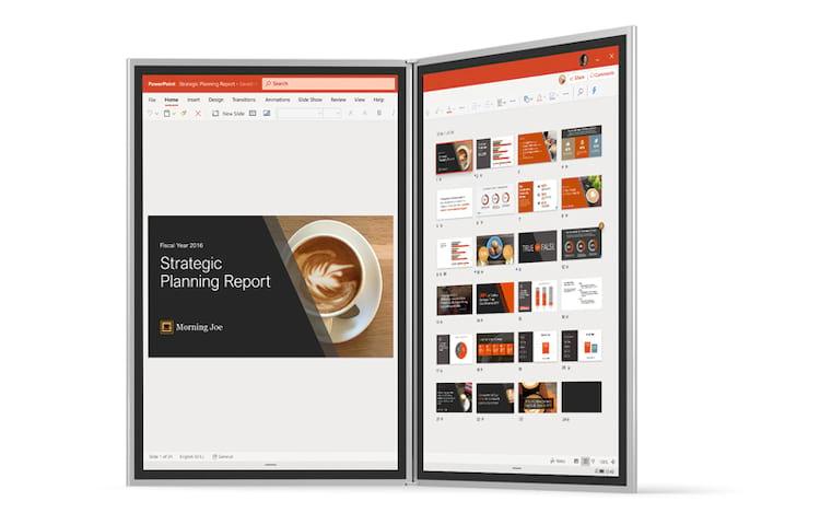 Windows 10X para dispositivos com telas duplas redesenhado para entregar performance, usabilidade e autonomia de bateria.