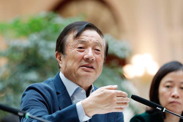 Ren Zhengfei fala sobre as pesquisas da Huawei no 6G (fonte Bloomberg)