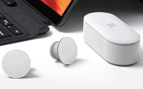 Conheça os fones de ouvido bluetooth True Wireless (TWS) da Microsoft! - Surface Earbuds