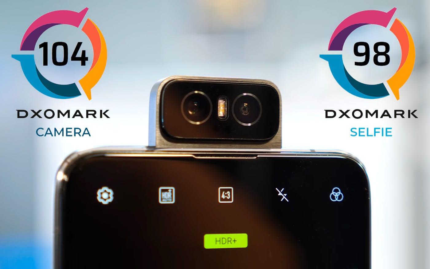 Além das selfies, Zenfone 6 da Asus marca 104 pontos no DXOMark
