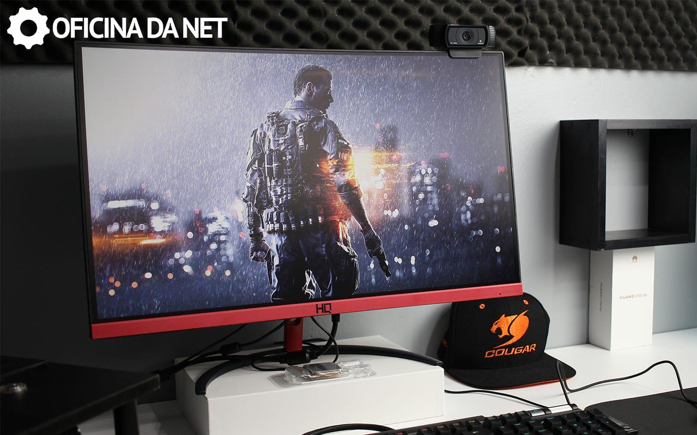Review HQ 24QHQ 144hz - Tem como ser pior?