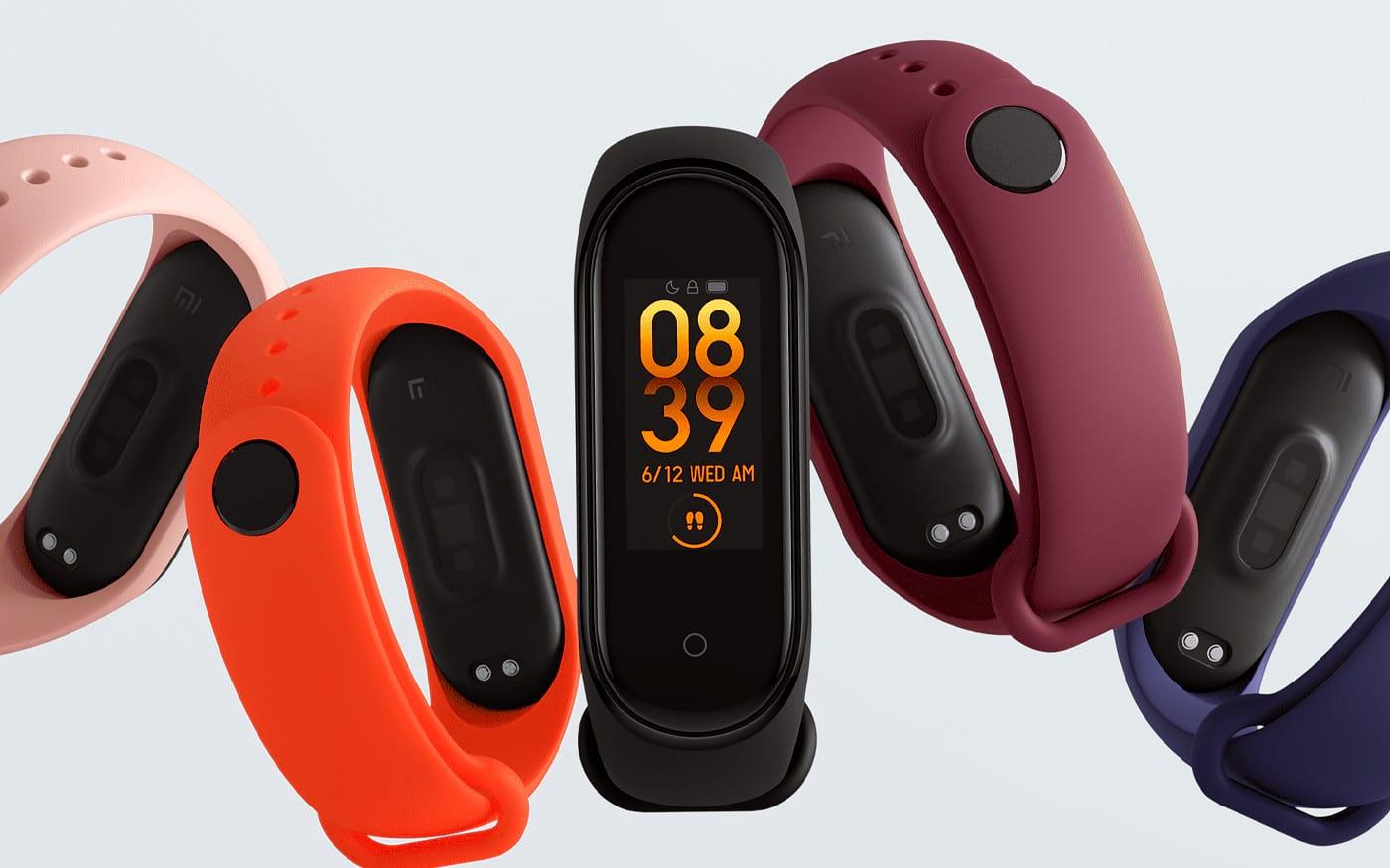 Xiaomi Mi Band 4 recebe atualização de software possibilitando maior controle do gadget