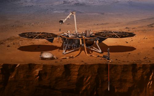 Confira o estranho barulho de Marte capturado pela sonda InSight da NASA