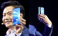 Lei Jun aparece com um Xiaomi Mi Mix Alpha