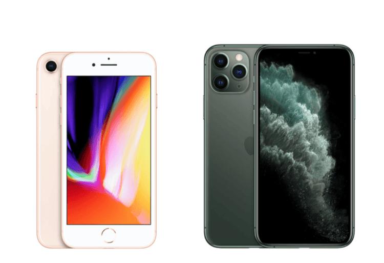 Vale a pena trocar um iPhone 8 por um iPhone 11 Pro?