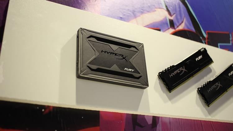 HyperX Fury SSD (novo)
