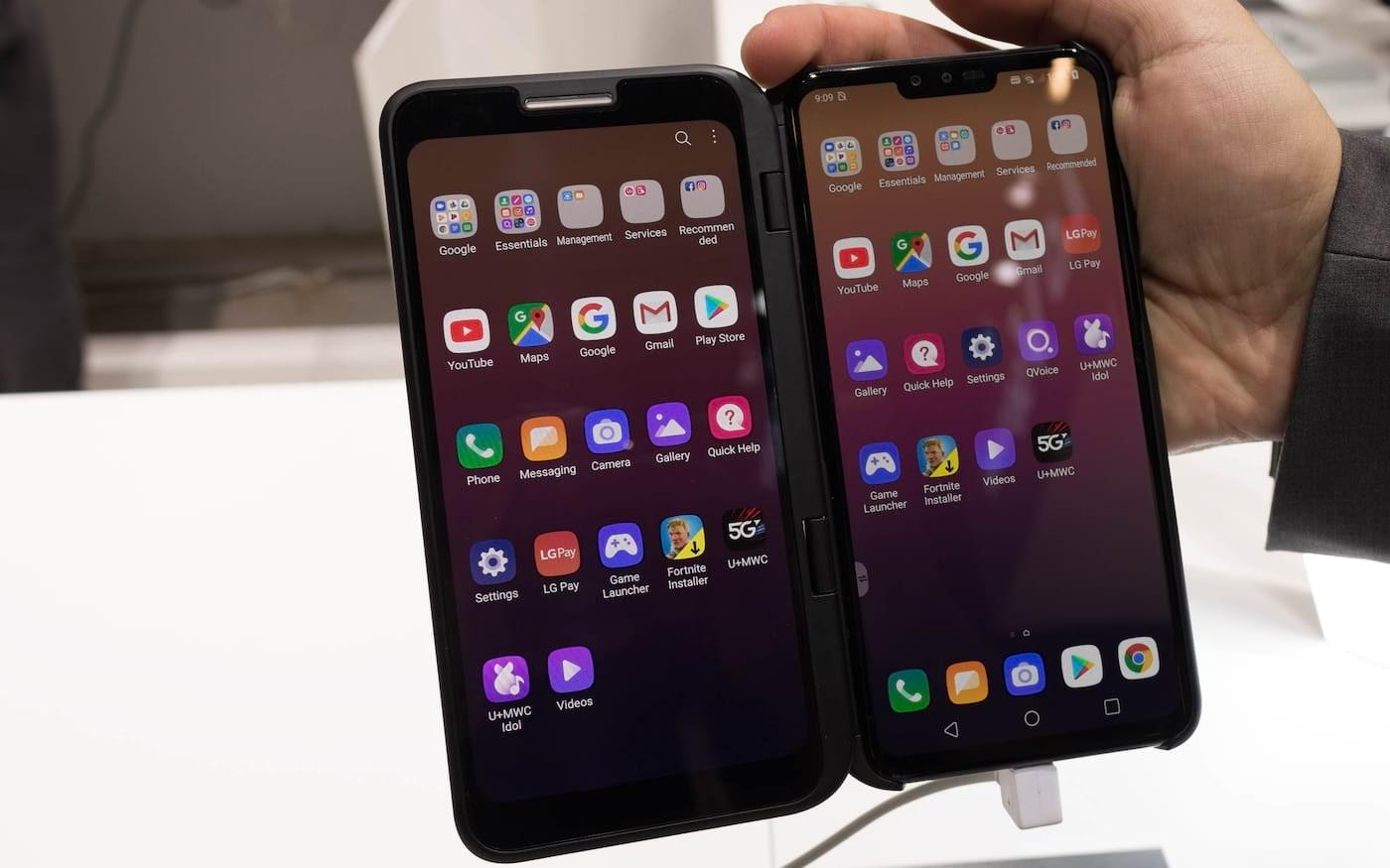 LG V50S ThinQ é oficial na Coreia do Sul, uma versão 5G do G8X ThinQ