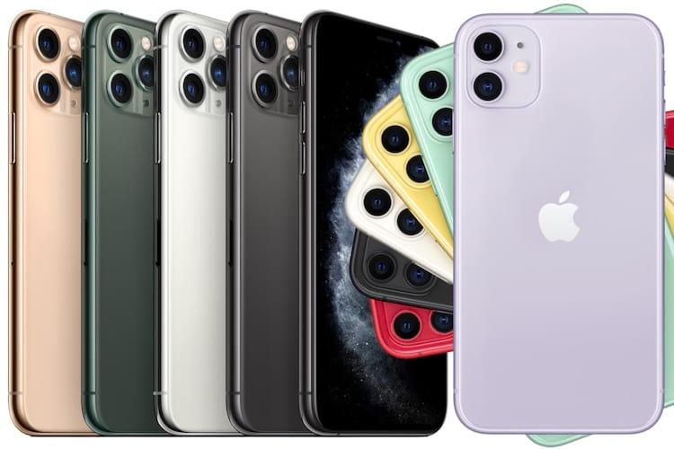 iPhones 11 e 11 Pro - Créditos macworld.com